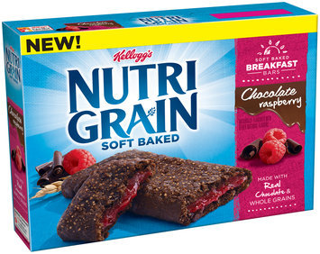 Nutri-Grain® Soft Baked Chocolate Raspberry Breakfast Bars 8-1.3 oz. Wrappers