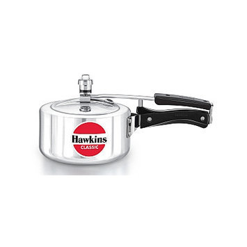 Hawkins Classic New Improved Aluminum Pressure Cooker Size: 2 L