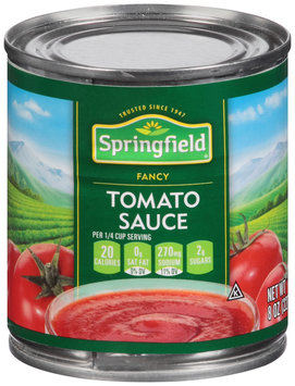 Springfield® Fancy Tomato Sauce 8 oz. Can