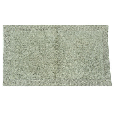 Textile Decor Castle 2 Piece 100% Cotton Bella Napoli Reversible Bath Rug Set, 30 H X 20 W and 40 H X 24 W