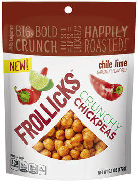 Frollicks™ Chile Lime Crunchy Chickpeas 6.1 oz. Pouch