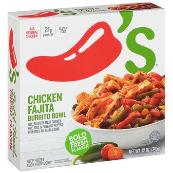 Chili's® Chicken Fajita Burrito Bowl 12 oz. Box