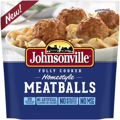 Johnsonville® Fully Cooked Homestyle Meatballs