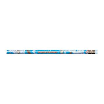 J.R. MOON PENCIL CO. JRM7965B PENCILS SEASONS GREETINGS BLUE 12 PACK
