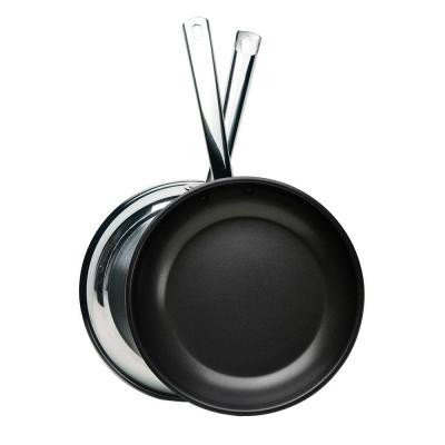 Ecolution Pure Intentions Stainless Steel 10 in. Fry Pan ESTN-5126