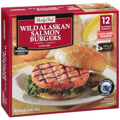 Daily Chef™ Wild Alaskan Salmon Burgers 3 lb. Box