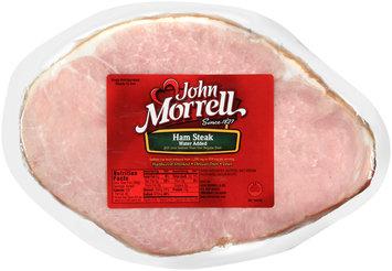 John Morrell® Water Added Ham Steak