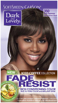 SoftSheen-Carson® Dark and Lovely® Fade Resist Rich Conditioning Color 350 Iced Espresso 1 Kit Box