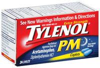Tylenol® Caplets PM Extra Strength 24 Ct Box