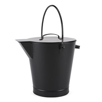 Minuteman International ASH-01 All Black Ash Bucket