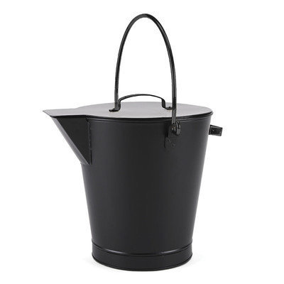 Minuteman International ASH-01 All Black Ash Bucket