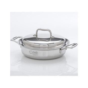 Cookware 2.3-Qt. Stainless Steel Round Casserole Pot