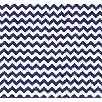 Sheetworld Chevron Zigzag Portable Mini Fitted Crib Sheet Color: Royal Blue