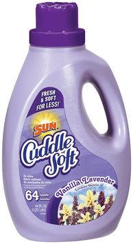 Cuddle Soft 3x Ultra Vanilla Lavender 64 Loads Fabric Softener 64 Oz Jug