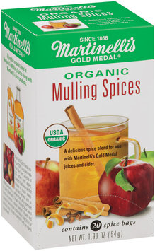 Martinelli's Gold Medal® Organic Mulling Spices 20 Spice Bags Per Box Display 48 Ct Corrugated Display