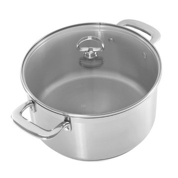 Chantal Induction 21 Casserole with Glass Lid - 6 Quart