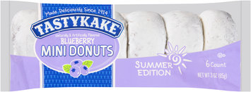 Tastykake® Summer Edition Blueberry Mini Donuts 3 oz. Pack
