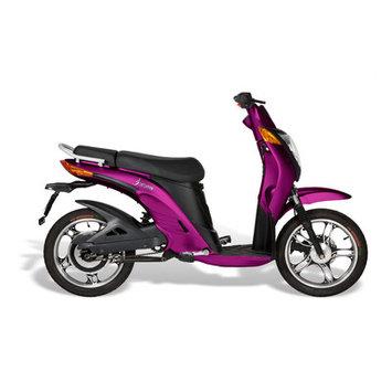 Jetson Bike Electric Bike Color: Purple