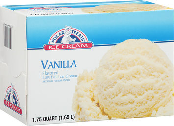 Polar Treats ® Vanilla Low Fat Ice Cream 1.75 qt