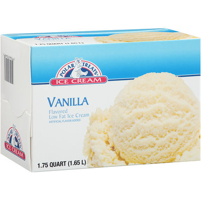 Polar Treats ® Vanilla Low Fat Ice Cream 1.75 qt