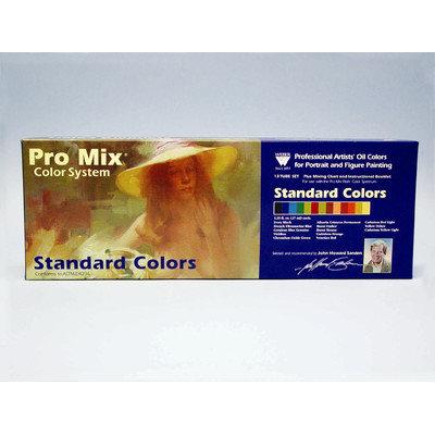 Martin/f. Weber Weber John Sanden Pro Mix Standard Color Oil Color Set - 13 Color