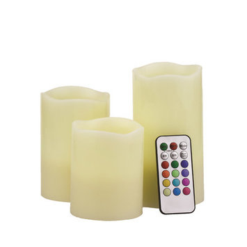 Unilution S3 Round Flameless Candles