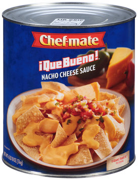 Chef-Mate® Que Bueno® Nacho Cheese Sauce 6.62 lb. Can
