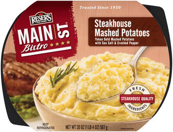Reser's Fine Foods® Main St Bistro™ Steakhouse Mashed Potatoes 20 oz Tray