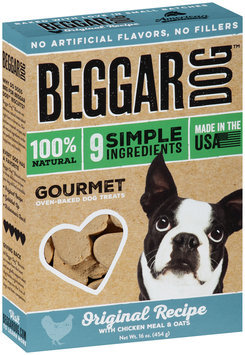 Beggar Dog™ Original Recipe Gourmet Oven-Baked Dog Treats 16 oz. Box