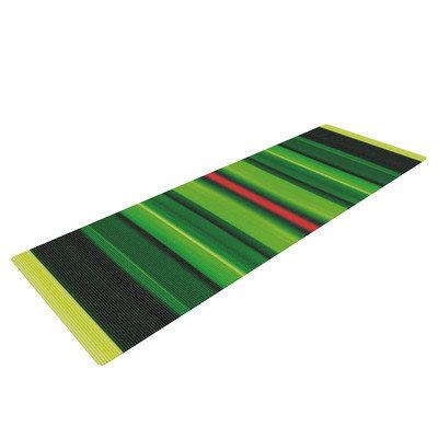 Kess Inhouse Stripes by Matthias Hennig Yoga Mat