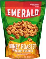 Emerald® Honey Roasted Virginia Peanuts 10 oz. Stand-Up Bag