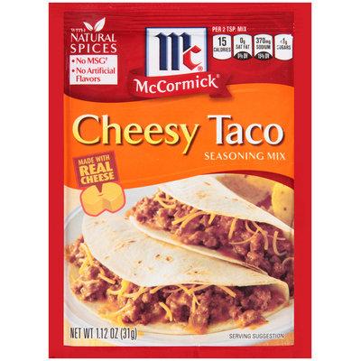 McCormick® Cheesy Taco Seasoning Mix