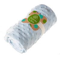 Evergreen Enterprises Blue Everyday Minky Dot Baby Blanket
