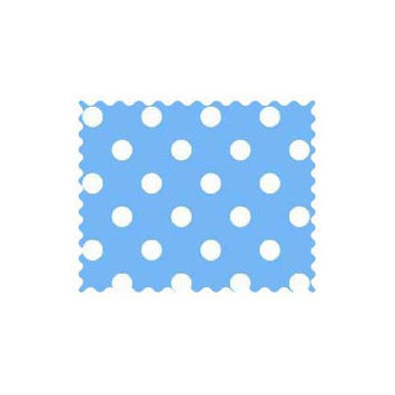 Sheetworld Primary Polka Dots Woven Fabric by the Yard