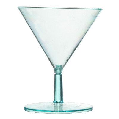 Fineline Settings, Inc Tiny Temptations 2 Oz. Tini Martini Glass (12 Pack) Color: Green