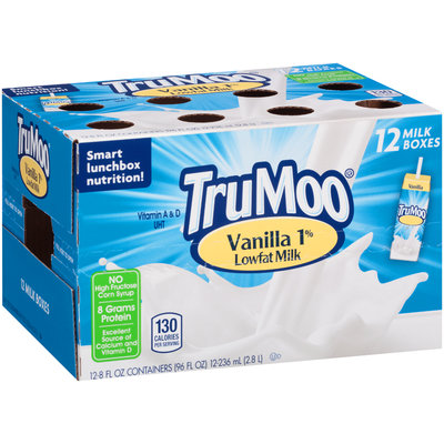 TruMoo® Vanilla 1% Lowfat Milk