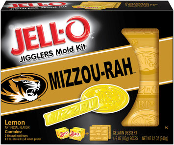 Jell-O Jigglers University of Missouri Mold Kit with Lemon