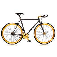 Big Shot Bikes Blackout Single Speed Fixed Gear Road Bike Size: 60cm
