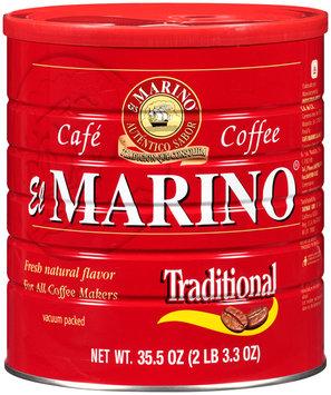 El Marino® Coffee Traditional 35.5 oz. Can
