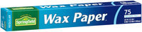 Springfield® Regular Wax Paper 75 sq. ft. Box