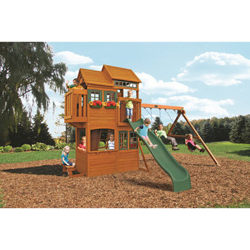 Big Backyard Playground Equipment. Somerset Lodge Playset