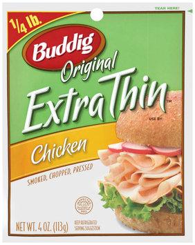 Buddig Original Extra Thin™ Chicken 4 Oz Peg