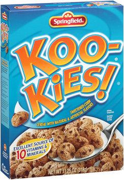Springfield® Koo-Kies!® Sweetened Corn Cereal 11.25 oz. Box