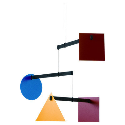 Flensted Mobiles Abstract Bauhaus Mobile Size: Large