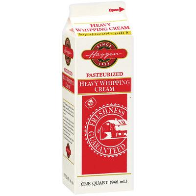 Haggen Heavy Whipping Cream 1 Qt Carton