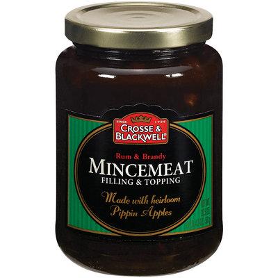 Crosse & Blackwell Filling & Topping Rum & Brandy Mincemeat 20.5 Oz Jar