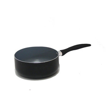 Gourmet Chef Saucepan with Lid Color: Red, Size: 4 Quarts