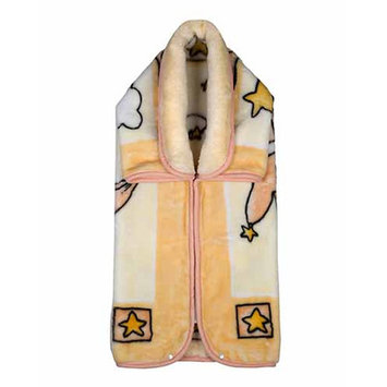 Home Sensation Baby Snuggle Wrap with Zipper Color: Beige