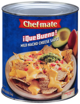 Chef-Mate® Que Bueno® Mild Nacho Cheese Sauce 6.62 lb. Can