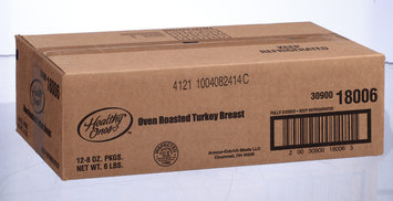 Healthy Ones Sliced Oven Roasted Turkey Breast Deli - Presliced Turkey 8 Oz